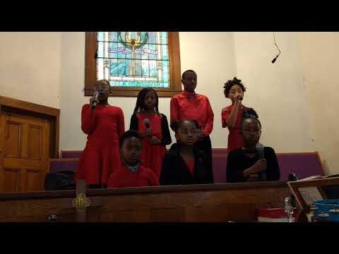 NUMC children's choir - happy birthday Jesus