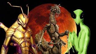 Инопланетяне с МАРСА: инсектоиды (насекомоподобные), рептилоиды, серые | Конфликты с людьми