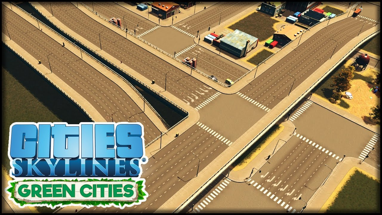 Neues Industrial Grid Cities Skylines S3 39 Green Cities Youtube
