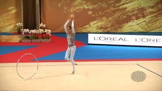 NIKOLCHENKO Vlada (UKR) - 2018 Rhythmic Worlds, Sofia (BUL) - Qualifications Hoop