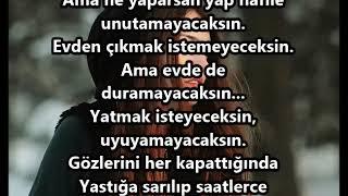 UNUTAMAYACAKSIN FON VE ŞİİR SÖZLERİ...!!