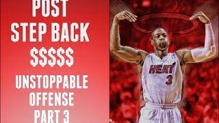 NBA 2K16 TIPS - POST STEP BACK - EFFECTIVE OFFENSE [3]