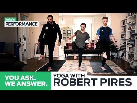 Yoga with Robert Pires | Home Yoga Workout | You Ask, We Ans