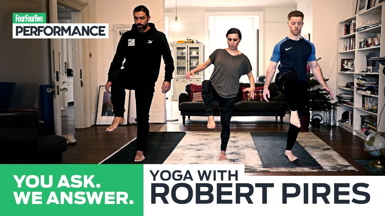 Professional footballers are turning to yoga – here's why
