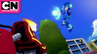 Mega Man: Fully Charged | Mega Man, Here to Help! | Cartoon Network