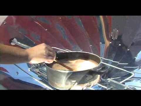 Cocinando con el sol de Paraguay  - El soyo
