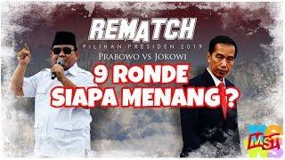 Jokowi Vs Prabowo 9 Ronde, 2 Ronde Telah Usai, Siapa Menang?
