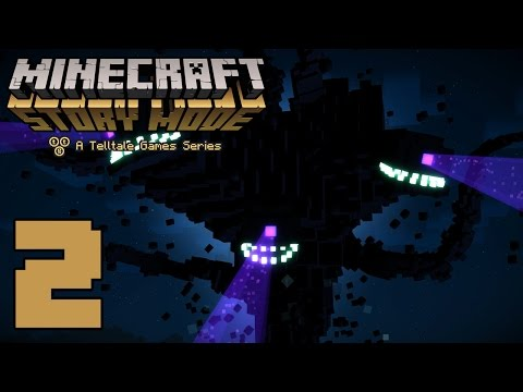 """Minecraft: Story Mode """"The Order of the Stone"""" (#2) KID GAMING"""