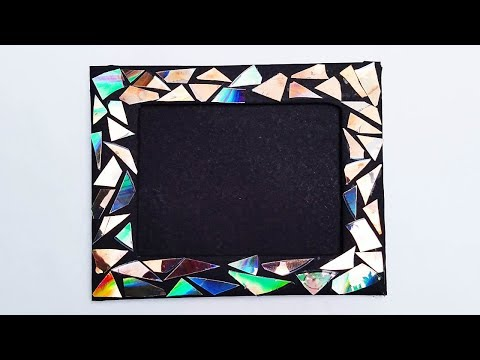 DVD Cassette #PhotoFrame | How to make a Unique Photo Frame at home | Diy-Paper-Crafts