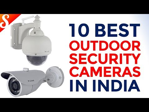 10 Best Outdoor Security Cameras in India with Price | Waterproof Cameras for House & Office