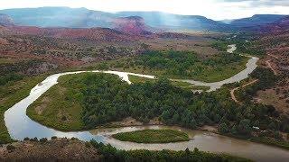 Camping near Abiquiu New Mexico