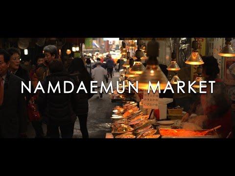 Namdaemun Market At Night (서울투어 남대문시장) - SEOUL TOUR