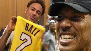 Lavar Ball Makes Neymar Jr A BIG BALLER!