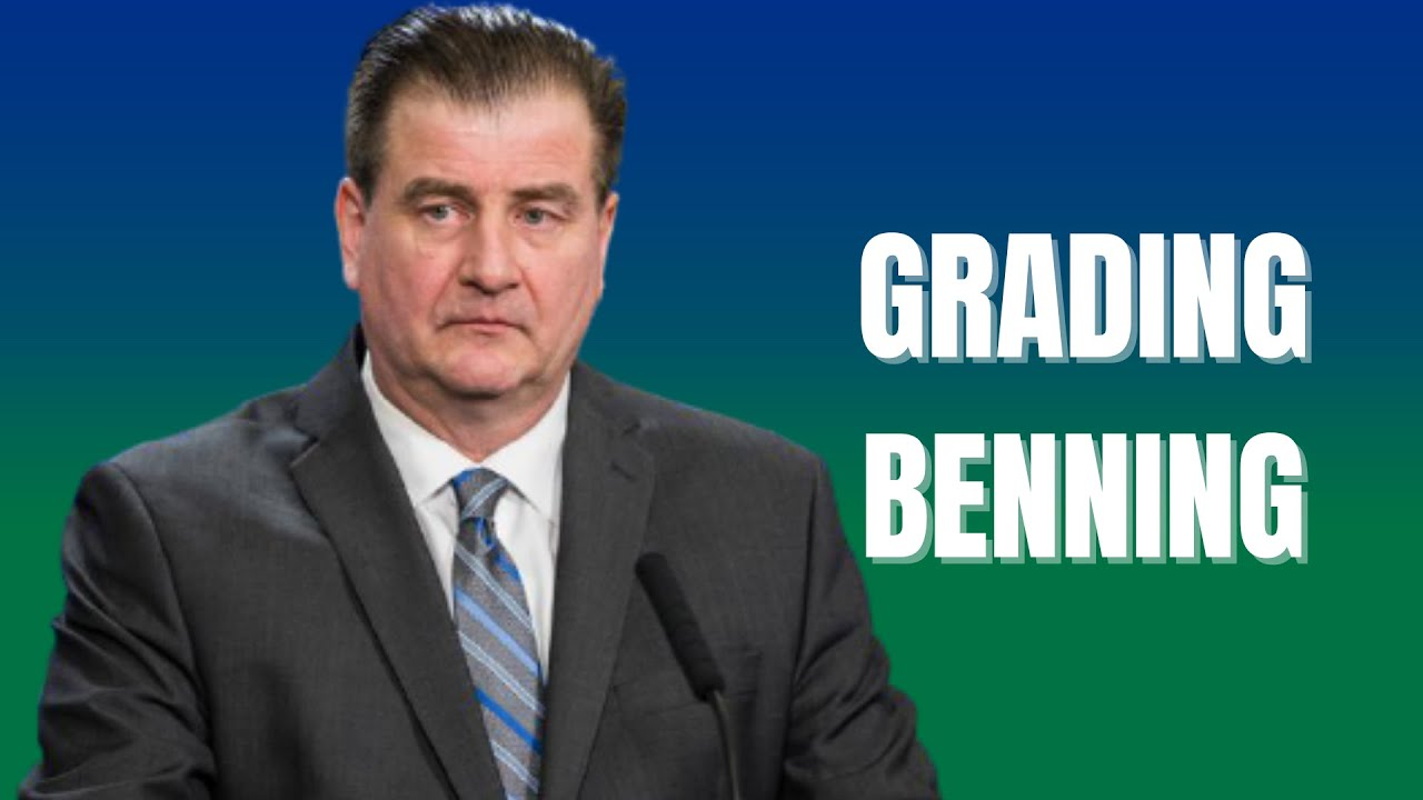 Download Canucks talk: grading Jim Benning (drafting, contracts, trades, free agents)