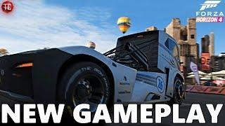 Forza Horizon 4: NEW FREEROAM GAMEPLAY! Volvo Iron Knight, Unimog and MORE!