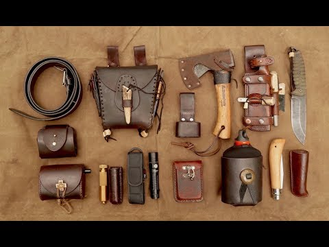 Bushcraft Combo Belt Kit