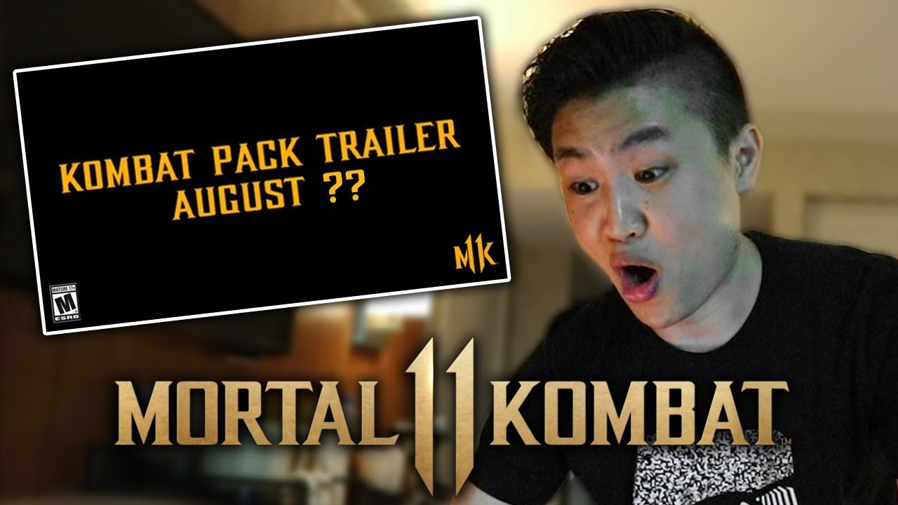 Mortal Kombat 11 - Kombat Pack Trailer Release Date Revealed    [REACTION]