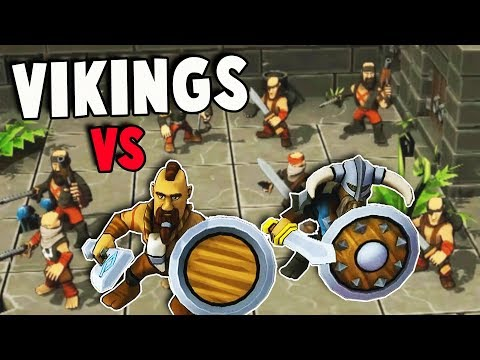 PIRATES vs VIKINGS!  Who's the BEST!?  Epic Clash & Adventure (Iron Tides Gameplay Part 1)