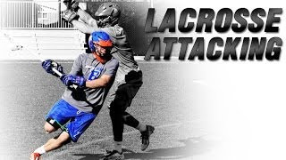 Lacrosse GLE 2 Man Attack | Lacrosse Training