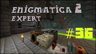 Minecraft 1.12.2 Enigmatica 2 Expert Mode Skyblock #36 Runic Altar zautomatyzowany