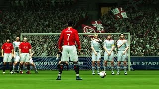 Free Kicks From PES 98 to 15