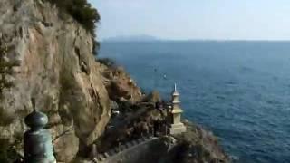 阿伏兎観音、磐台寺からの景色