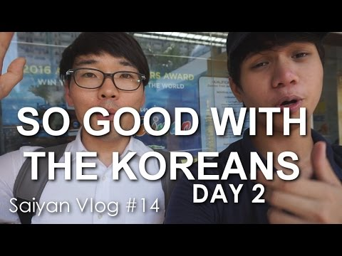 SO GOOD WITH THE KOREANS IN THE PHILIPPINES - DAY 2 (Saiyan Vlog #14)