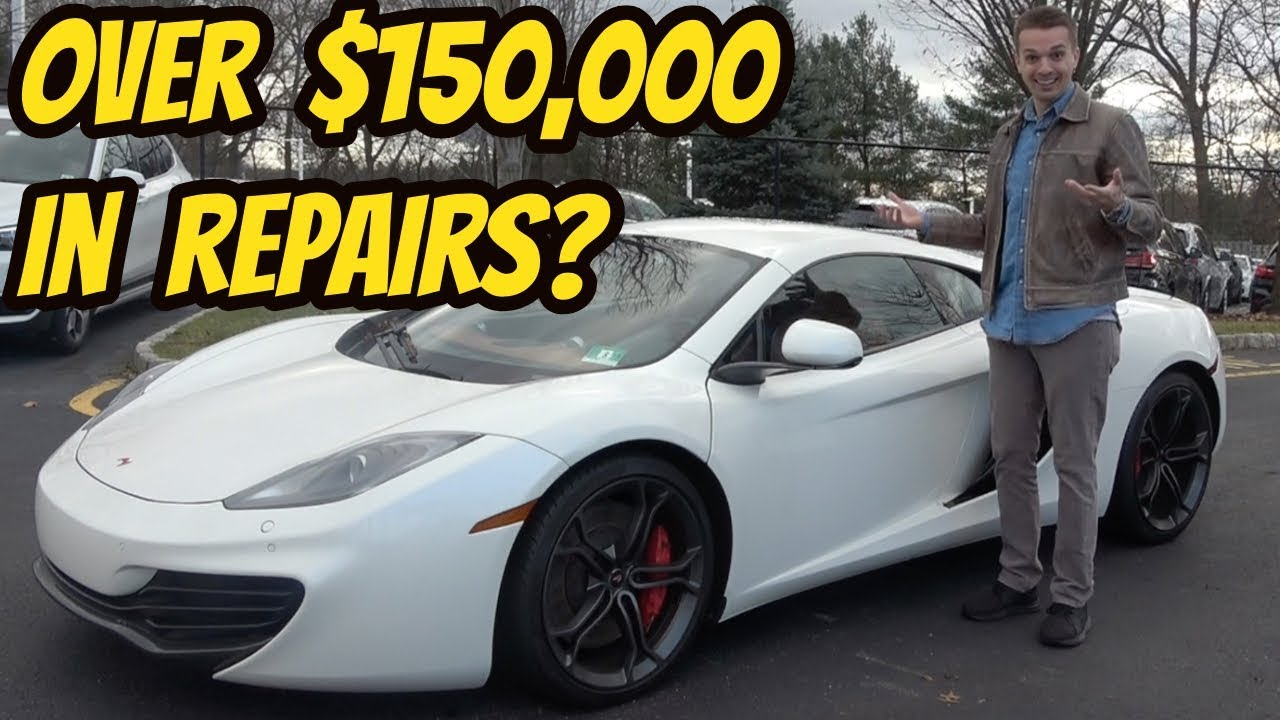 Here's Everything that's Broken on My McLaren MP4-12C Over the Past 2 Years