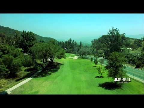 DeBell Golf Course Burbank Ca, Aerial Flyover - Hole 1 Mp3