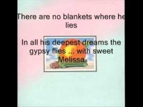 The Allman Brothers Band   Melissa Lyrics
