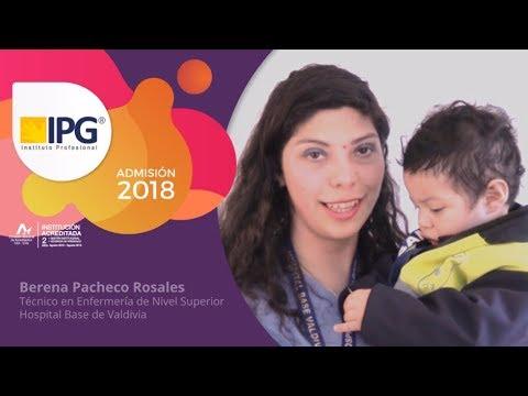 IPG Admisión 2018 - Berena  Pacheco - Sede Panguipulli.
