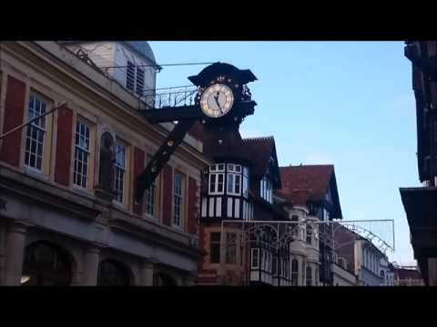 Winchester, Hampshire, England. The visit on the New Year's Eve
