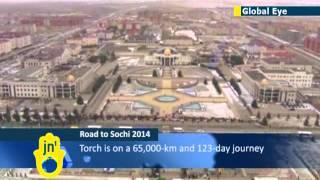 Sochi Olympic torch reaches Ingushetia: North Caucasus region plagued by Islamist insurgency