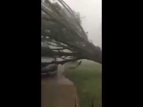 Tornado en Nuevo Laredo