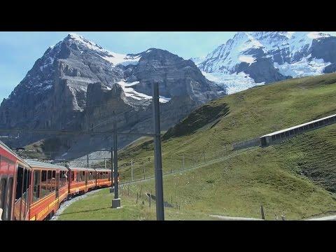 Jungfraujoch (Kleine Scheidegg - Eigergletscher - Eigerwand - Eismeer)