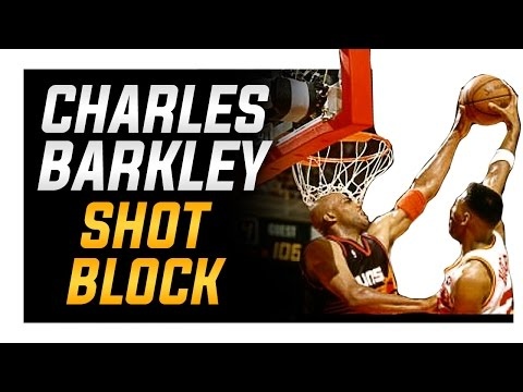 Charles Barkley Post Shot Block: How to Block Shots in Basketball