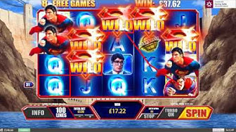 Superman The Movie Free Spins Bonus