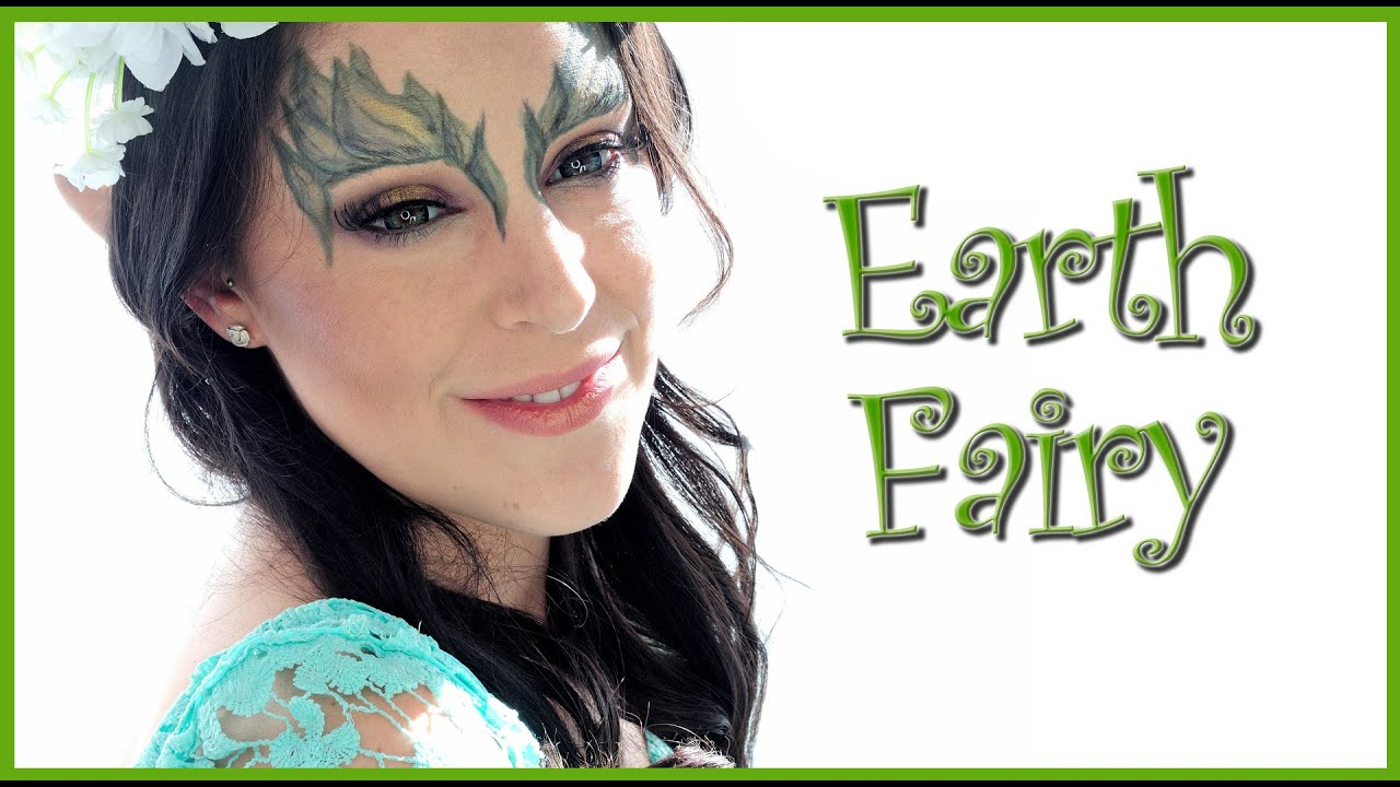 Fairy Of The Earth Makeup Tutorial With Anaarthur81 Silvia Quiros