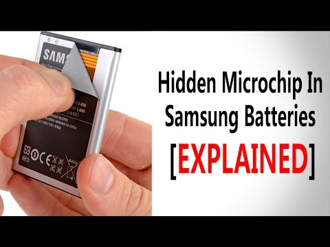Truth About The Hidden Chip In Samsung Batteries [EXPLAINED]