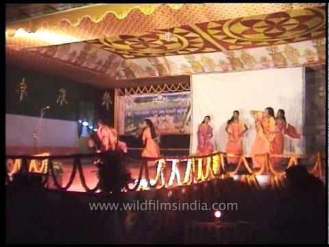 Bagurumba, the traditional Bodo dance