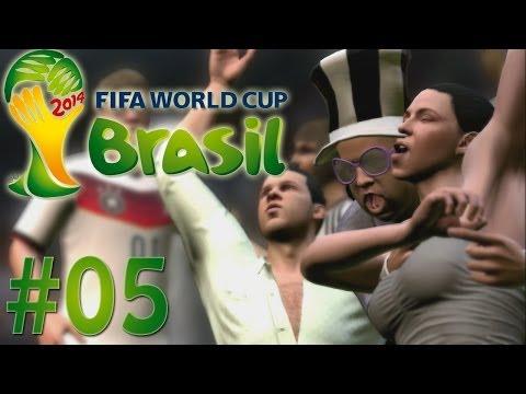 Fifa World Cup 2014 [#05] - German-Mode: Gruppe G: Deutschland - Ghana [Full-HD] [Let's Play]