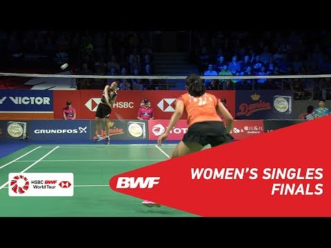 F | WS | TAI Tzu Ying (TPE) [1] vs Saina NEHWAL (IND) | BWF 2018