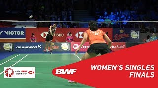 Download Video F | WS | TAI Tzu Ying (TPE) [1] vs Saina NEHWAL (IND) | BWF 2018 MP3 3GP MP4