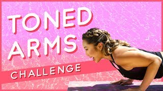 Toned Arms & Sexy Shoulders Workout ☀ Summer Song Challenge #5 ☀