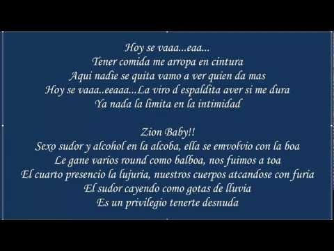 Chupop ♪Letra/Lyrics♪ - Zion Y Lennox [La Formula] [Original] ★Reggaeton 2012★