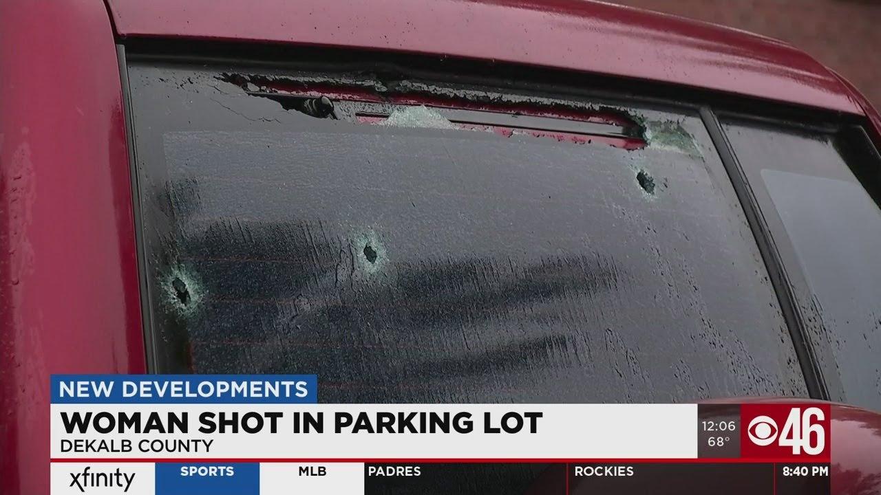 Woman shot when gunman opens fire in DeKalb