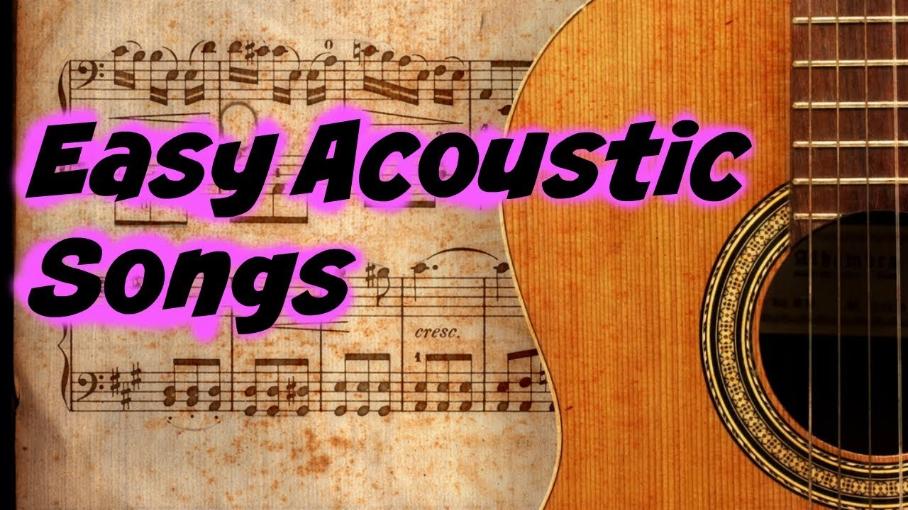 Easy Acoustic Song Strum Pattern Beginnners Can Learn A Cool