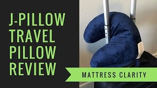j pillow review the travel pillow for side sleepers