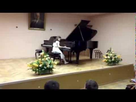 Концерт в ДМШ 1 им Прокофьева