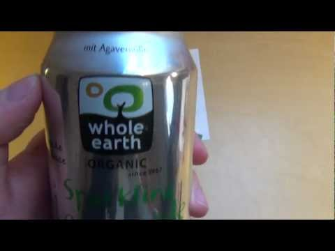 Sparkling Lemonade Whole Earth organic